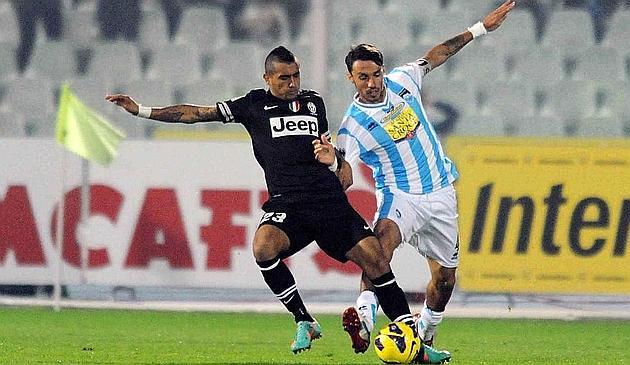 Pescara Juventus vidal