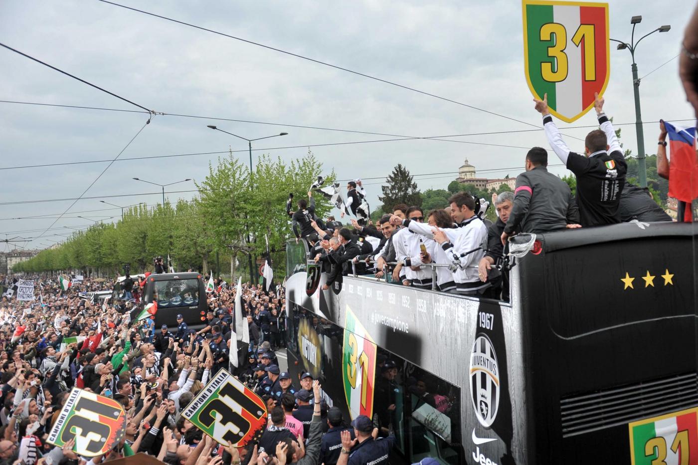 Juventus festa scudetto