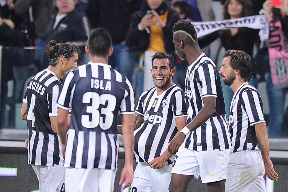 tevez Juventus catania