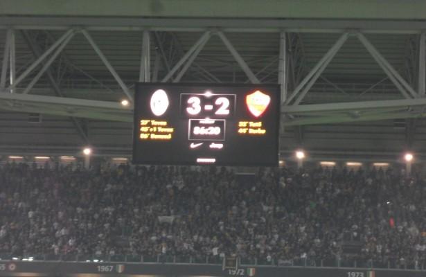 juve roma 3-2